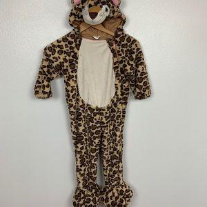 Halloween Costume Leopard Sz 2-3T